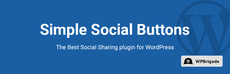 Simple Social Media Share Buttons SSB, Best WordPress Social Sharing Plugins