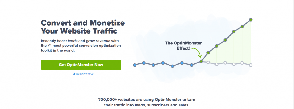 OptinMonster, WordPress Email List Building Plugins