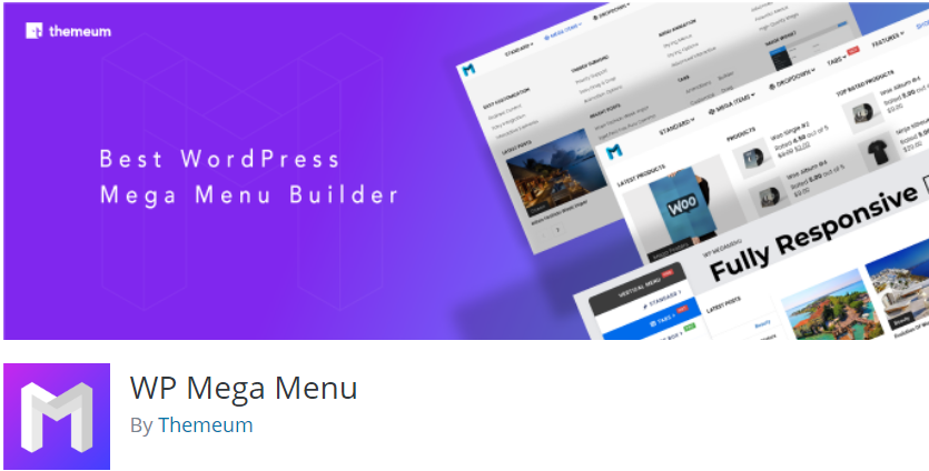 WP Mega Menu, WordPress Mega Menu Plugin, Best WordPress Mega Menu Plugins For 2020