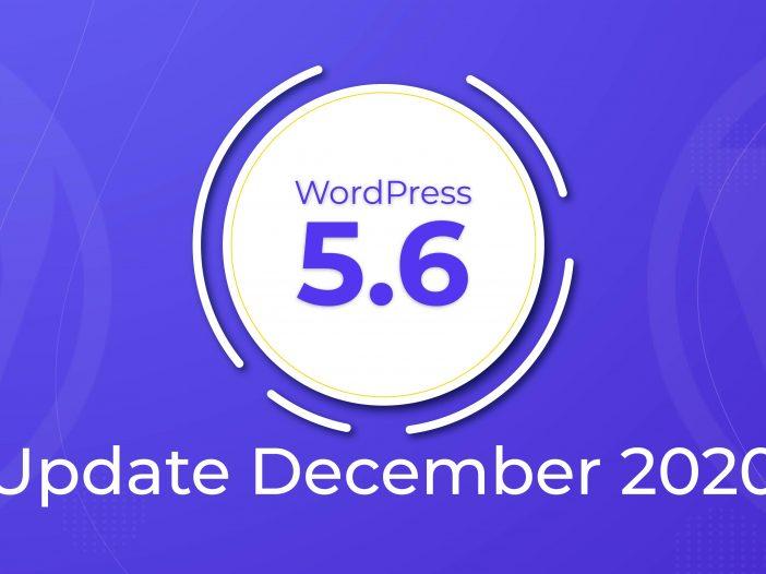 WordPress 5.6 Update December 2020