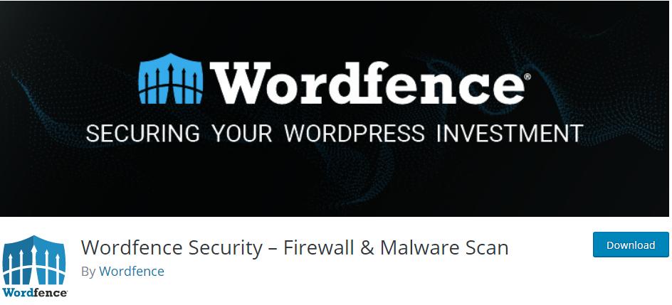 Wordefence Security WordPress Plugin