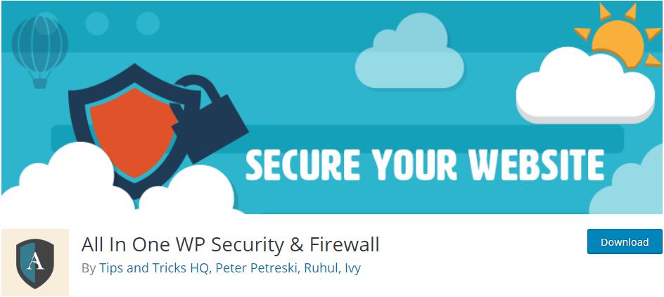 All in One WP Security WordPress Plugin